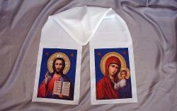 Рушник Атлас с иконой