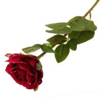 Роза бордовая искусств.